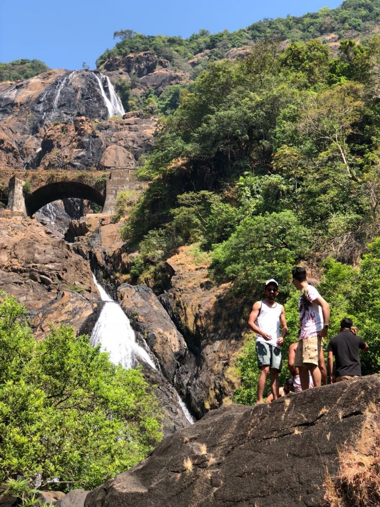 Dudhsagar Waterfall and Party Boat Trip Combo